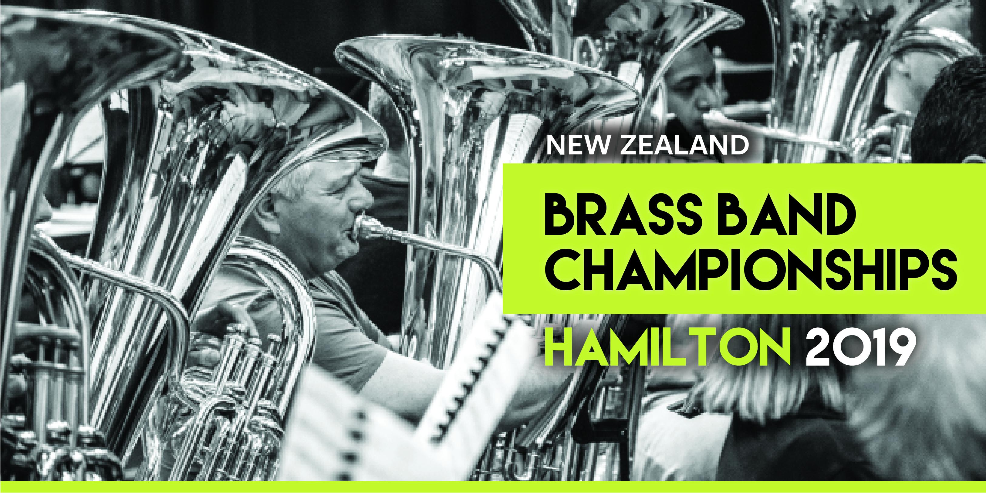 NZ Brass Band Championship 2019 - Claudelands