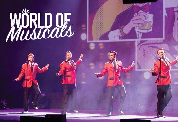 World Of Musicals - NEW DATES
