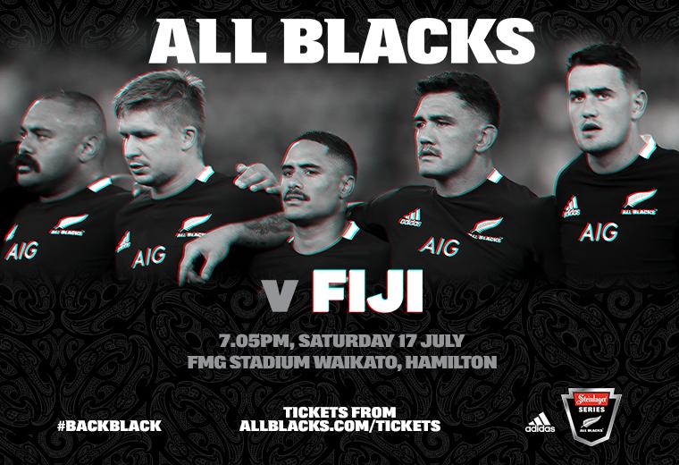 All Blacks vs Fiji