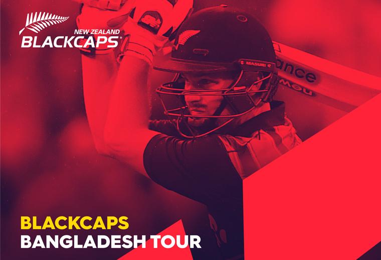 1st Test - BLACKCAPS vs Bangladesh