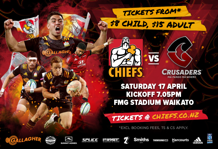 Gallagher Chiefs v Crusaders