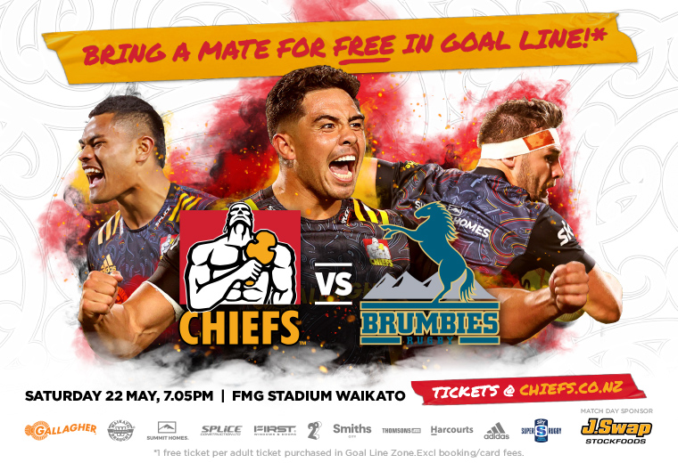 Gallagher Chiefs v Brumbies