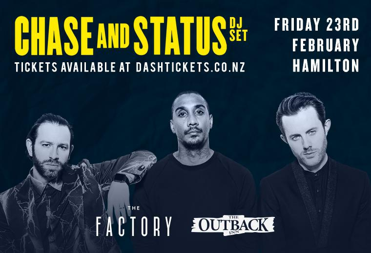 The Factory & The Outback present Chase & Status (DJ set)