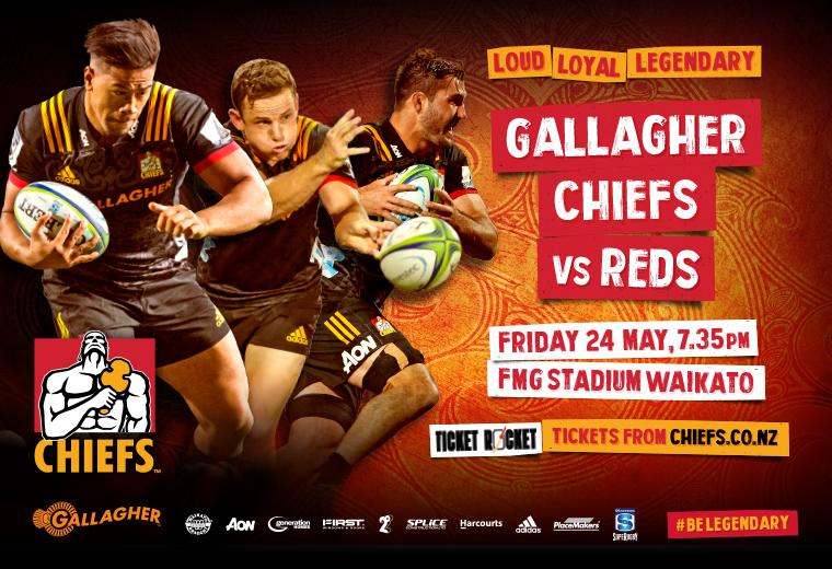 Gallagher Chiefs v Reds