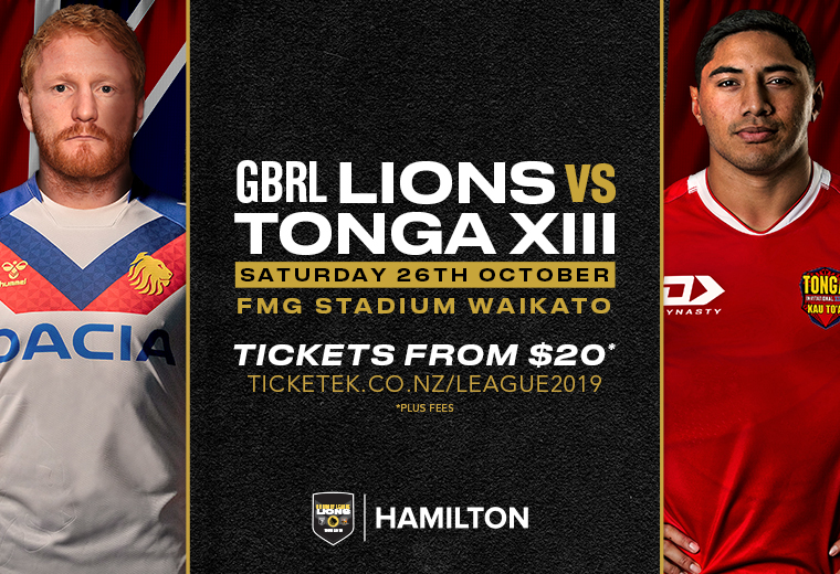 Great Britain Rugby League Lions v Tonga Invitational XIII