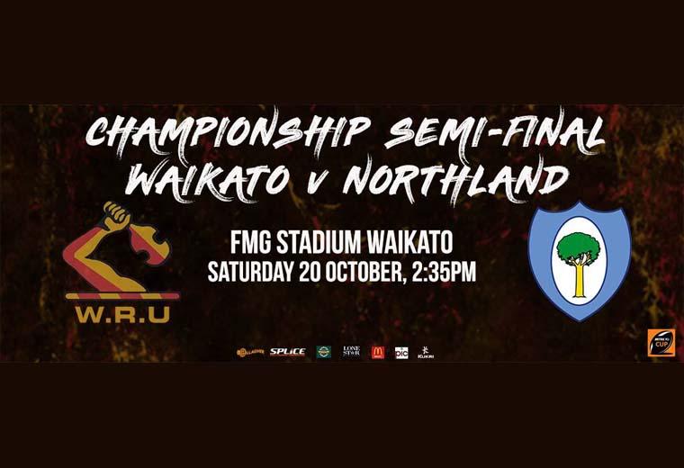 Mitre 10 Cup Semifinal - Waikato v Northland