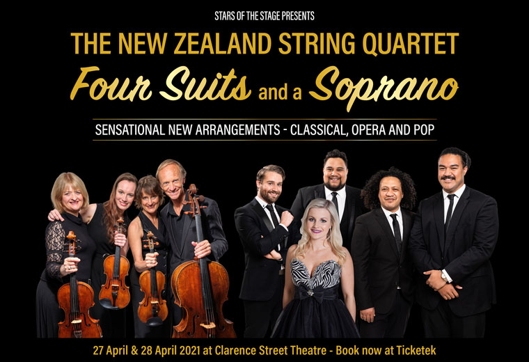 The New Zealand String Quartet, Four Suits and a Soprano
