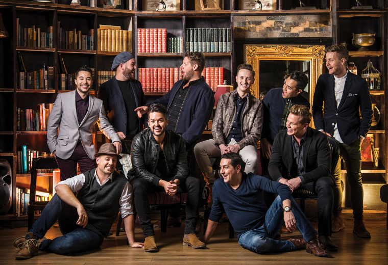 Ten Tenors - Love Is In The Air - NEW DATES