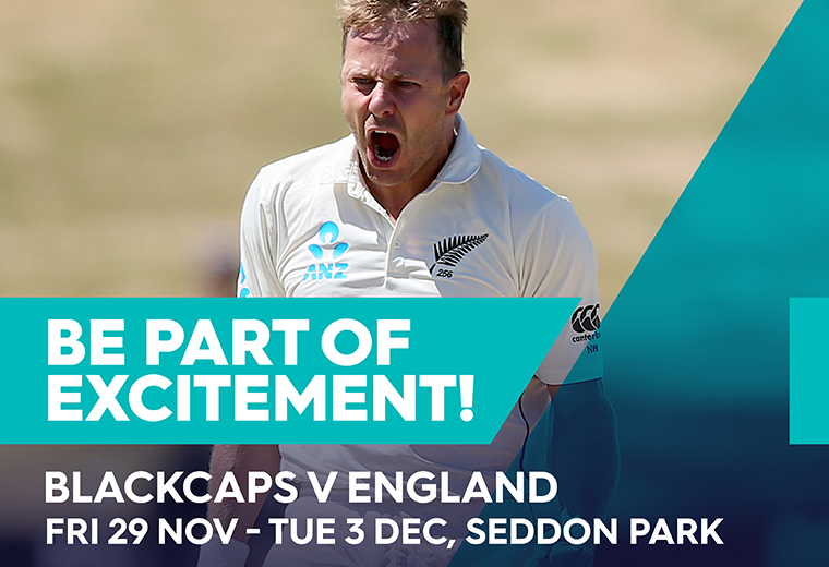 BLACKCAPS v England