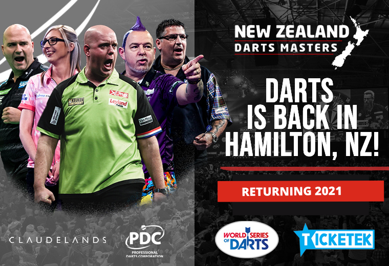 NZ Darts Masters 2021 - NEW DATES