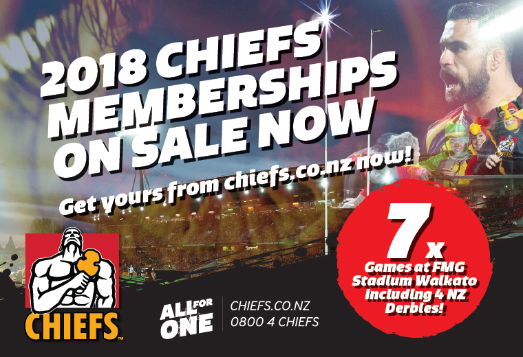 Gallagher Chiefs vs Brumbies