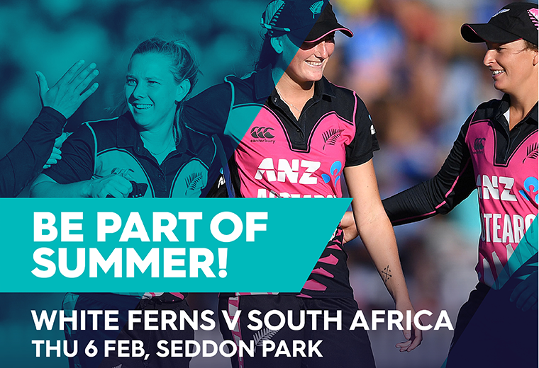 White Ferns v South Africa